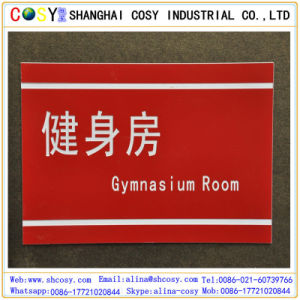 1.3mm (600*1200mm) Hot Sale ABS Double Color Board with High Adhesive for Engraving pictures & photos