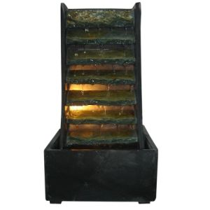 38cm Real Stone Table Fountain with LED Light pictures & photos