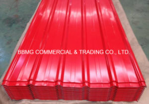 Prepainted PPGI Roofing Profile/Corrugated Color Roofing Sheet Steel Plate pictures & photos