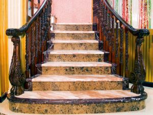 Building Material High Quality Cut to Size Marble Stair Supplier pictures & photos