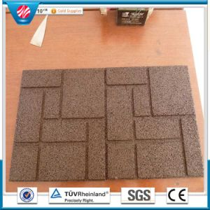 Outdoor Rubber Flooring Tile, Children Rubber Flooring pictures & photos