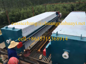 Diaphragm/Membrane Filter Press for Waste Water Sludge pictures & photos