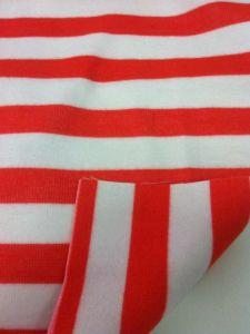 Poly / Rayon / Spandex Both Sides Brushed Yarn Dye Stripe Fabric
