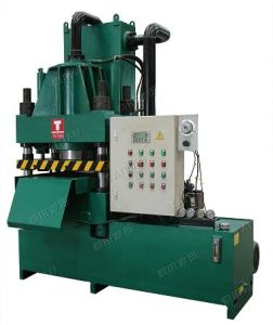 Four Column Hydraulic Blanking Machine (TT-SZ100T) pictures & photos
