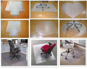 Advantagemat PVC Chair Mat for Low Pile Carpets up to 1/4-Inch Thick, Clear 60 X 48 Inches, Rectangular pictures & photos
