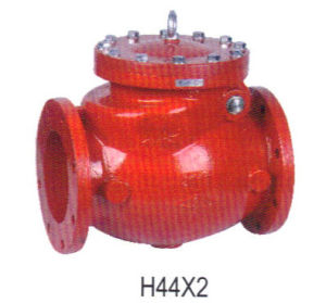 Red Ductile Iron Swing Check Valve pictures & photos