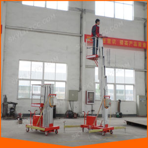 4-10m Single Mast Aerial Working Platform with Ce pictures & photos
