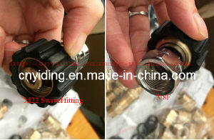 Brass Coupling (M22 swivel +3/8F) pictures & photos