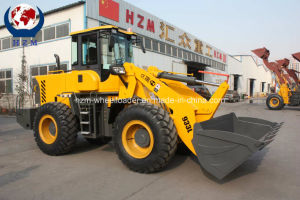 Top Quality Best Offer Hzm 3 Ton Wheel Loader Sale with Forklift pictures & photos