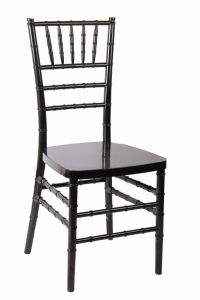 Black Polycarbonate (PC) Resin Wedding Dining Tiffany Chair pictures & photos