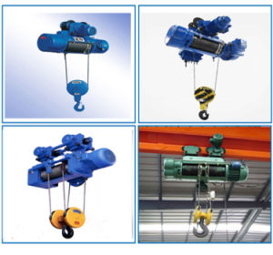 Electric Wire Rope Hoist Capacity 2t with Good Quality pictures & photos