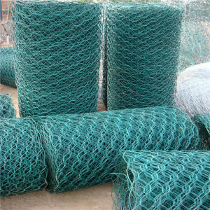 PVC Coated Welded Wire Mesh Gabion Box in China