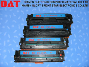 Compatible Color Toner Cartridge for Use in HP Cm2320 (CB540A CB541A CB542A CB543A) pictures & photos