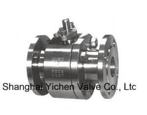Forged Steel Floating Ball 2PC Ball Valve (2Q11F) pictures & photos