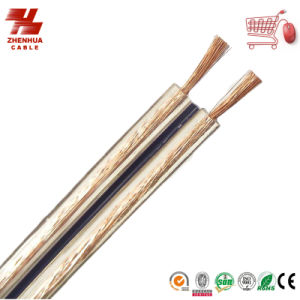 Stranded Copper Conductor PVC Insulation Twin Parallel Electric Wire for Speraker and Audio 2* 0.75mm2 pictures & photos