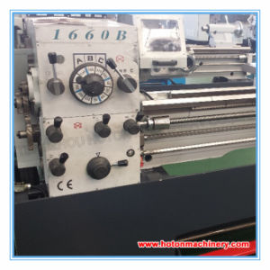 Horizontal Metal Gap Bed High Precision Lathe Machine (LC1660B) pictures & photos