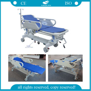 AG-HS002 Height Adjustable Hand Manual Stretcher pictures & photos