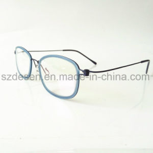 Custom Logo Printing Logo Korea Style Steel Wire Eyewear Optical Frame pictures & photos