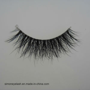 Hot Sale Sexy 100% Natural Mink Hair Beauty 3D Eyelashes pictures & photos