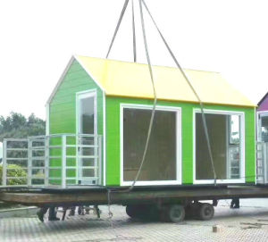 Good Quality Sandwich Panel Steel Frame Small Villa Containers pictures & photos