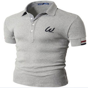 Advertising Logo Printed Mens Cheapest Polo Shirts pictures & photos