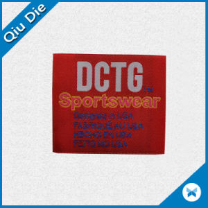 High Quality Weaving Label for Sportwear Accessories pictures & photos