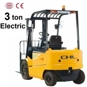 3 Ton Forklift Electric with Curtis Zapi Controller (CPD30) pictures & photos
