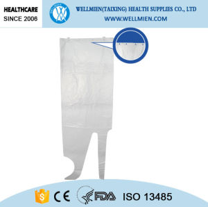 Factory Price Disposable PE Slaughtering Apron pictures & photos