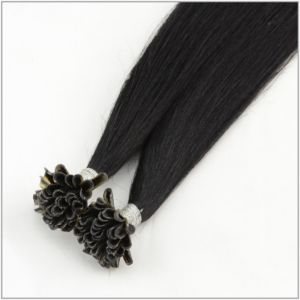 U Tip Straight Silk Human Hair Extension pictures & photos