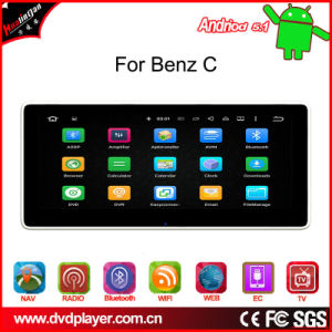 """10.25""""GPS Tracker for Benz C Android 5.1 GPS Navigation, WiFi Connection, 3G Internet, DAB pictures & photos"""