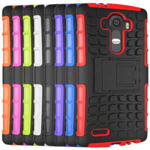 Mobile Cell Phone High Quality 3in1 Silicone PC TPU Stand Case for LG G4 pictures & photos