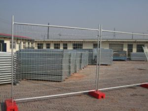 Hot-Dipped Galvanized Temporary Fence with High Zinc Coating pictures & photos