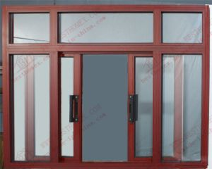 Four Panels Aluminium Sliding Window (BHA-SW38) pictures & photos