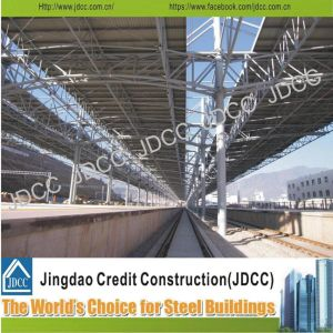 High-Quality Steel Structure Prefabricated Building for Train Station pictures & photos