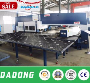 CNC Plate Punching Machine Hydraulic Turret Punch Press for Solar Water Heater pictures & photos