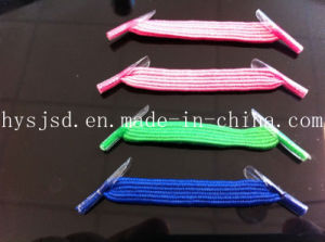 Factory Directly Ship Elastic Flat No Tie U Laces pictures & photos