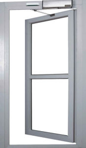 Fast and Low Price Automatic Safety Swing Door with CE (DS-S180) pictures & photos
