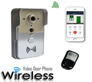 Manufacturing HD 720 Waterproof Night Vision Home Security WiFi Video Door Phone Support Remote Unlock pictures & photos