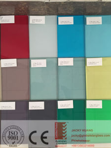 Colored PVB Laminated Glass 4.38-12.38mm Certified by AS/NZS 2208 pictures & photos