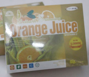 Weight Loss Product Leisure 18 Slimming Orange Juice pictures & photos