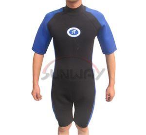 Hot Sale Half Length Neoprene Wet Suits (HS5102) pictures & photos