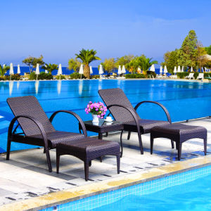 Hot Sale Cheap Price Patio Swimming Pool Furniture Sun Bed Beach Chair T501 pictures & photos