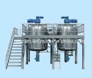 Liquid Wash Mixer Machine with Homogenizer for Detergent Products pictures & photos