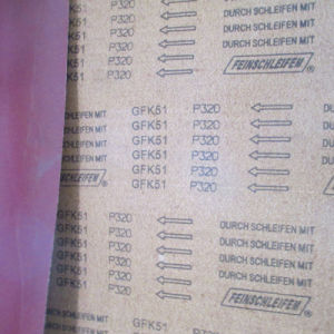 Gfk51 Medium Flexible Aluminum Oxide Abrasive Cloth for Abrasive Belts