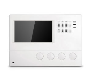 Security Systems 4.3 Inch Color Video Doorphone pictures & photos