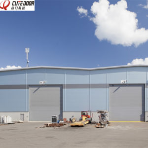 Automatic Industrial Sectional Shutter Door pictures & photos