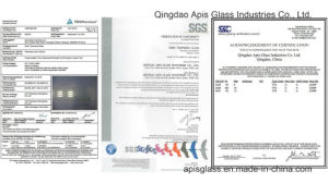 10mm Office/Bank/Hotel Sliding Framed Door Tempered Glass Panel with Ce and SGCC pictures & photos