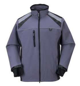 Customized Polyester/Spandex Men′s Outdoor Jacket pictures & photos