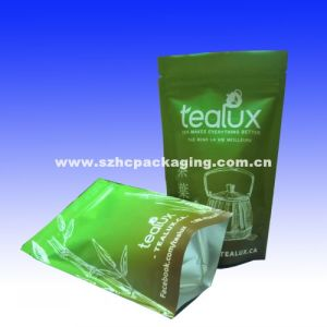 Stand up Foil Green Tea Bag Tea Pouch pictures & photos