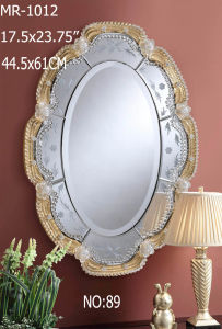 Special Offer Murano Crystal Wall Decor Mirror pictures & photos